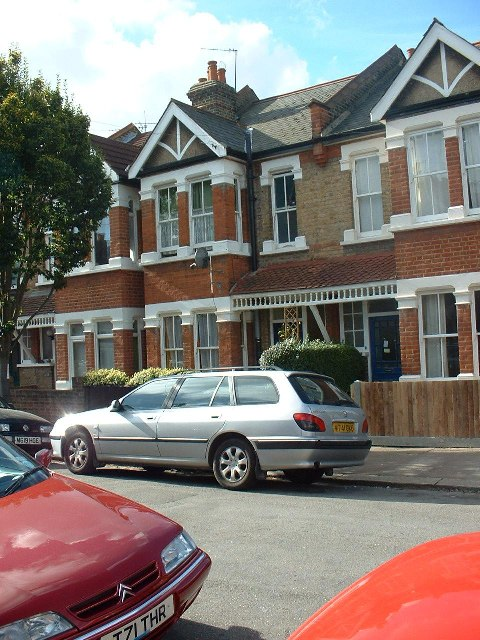Terraced houses, Hanwell, West London