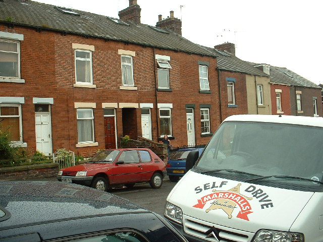 Terraced houses, Meersbrook, Sheffield