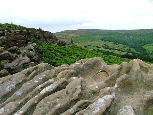 Barker's Crags, Scrugdale