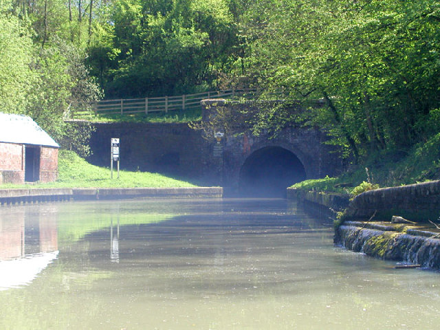The entrance to Blisworth Tunnel on the Southern Grand Union Canal