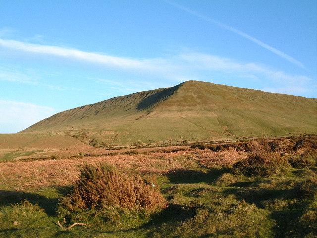 Hay Bluff. Black Mountains Hay-on-Wye