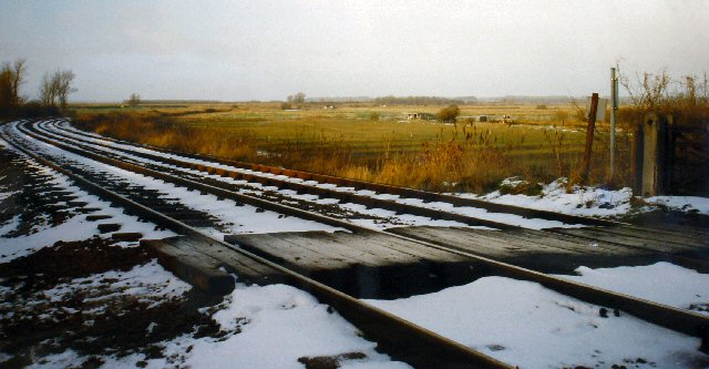 Level Crossing, Oulton Marshes, Near Oulton Broad, Lowestoft, Suffolk