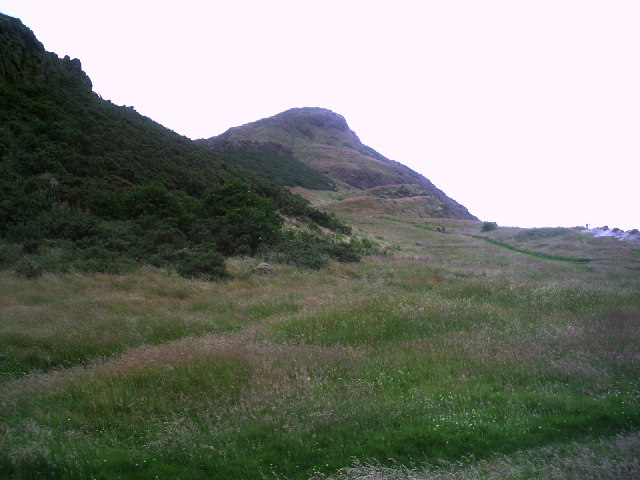 Arthur's Seat from Whinny Hill