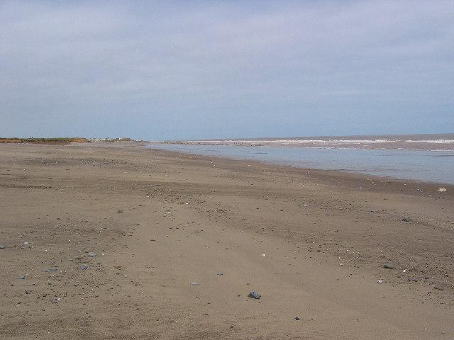 Kilnsea Beach at TA42011501