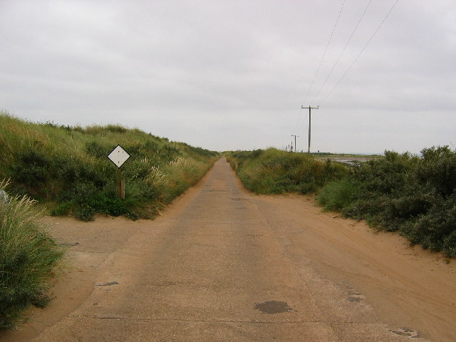 Spurn Peninsula at TA41711288