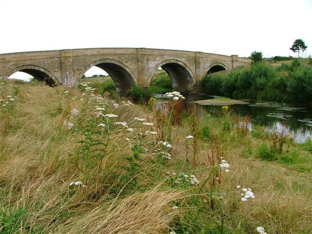 Morton Bridge, A684 Crossing of the River Swale