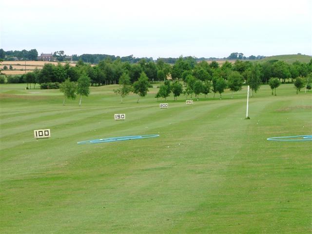 Driving Range, Romanby Golf Centre