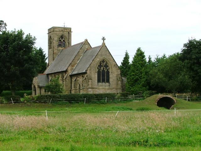 All Saints' Church, Yafforth