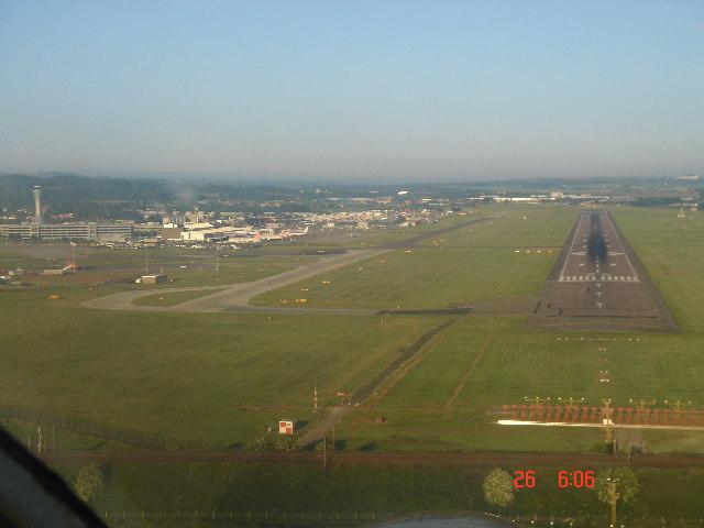 Runway 24 Edinburgh Airport