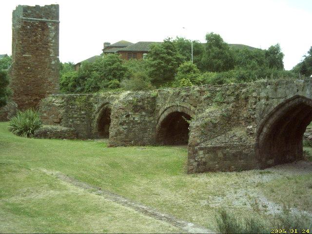 Medieval Exe bridge