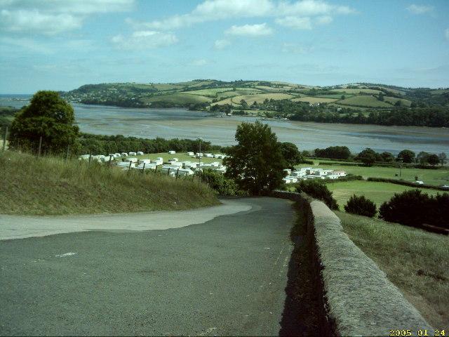 Teign Estuary, from near Ware Barton (A381)