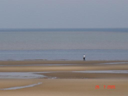 Low tide at Rhyl
