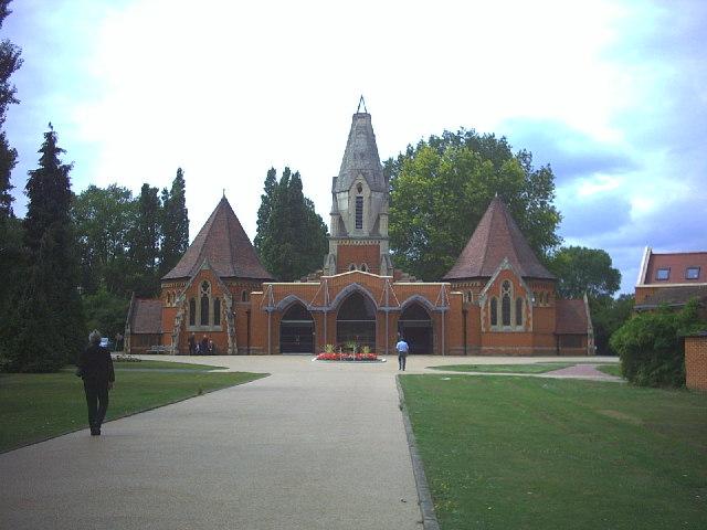 Morden Cemetery Chapels, Lower Morden Lane.