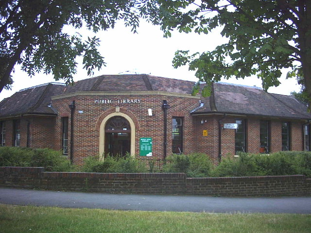 Ridge Road Library, North Cheam.