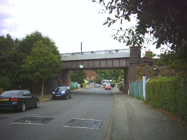 Love Lane Railway Bridge, Morden.