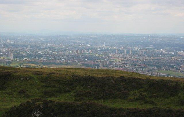 Glasgow from the Slacks.
