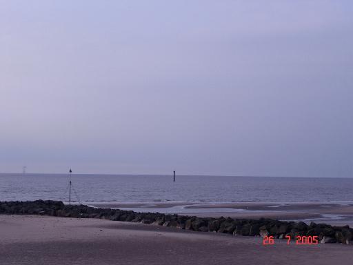 Coast off Prestatyn