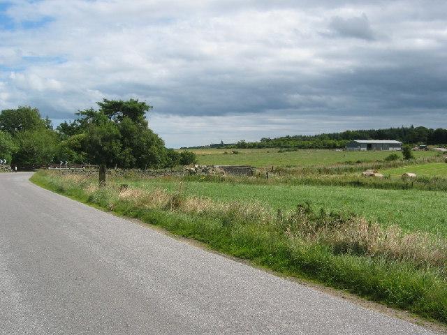 The road at Cairnieburn