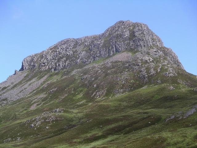 SW ridge of Sgurr Innse, 809m