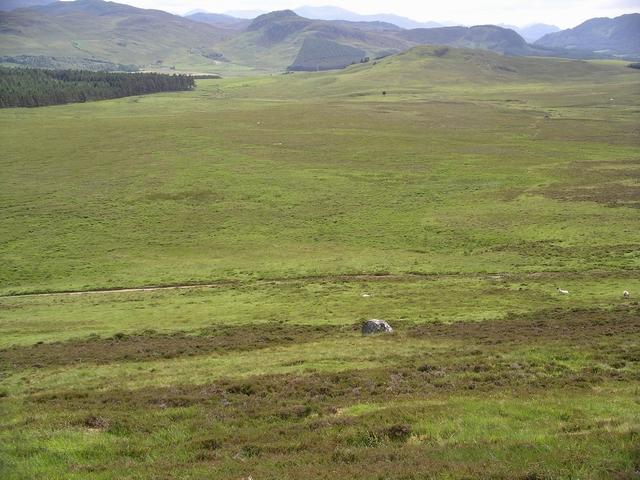 Moorland, Strath an Eilich