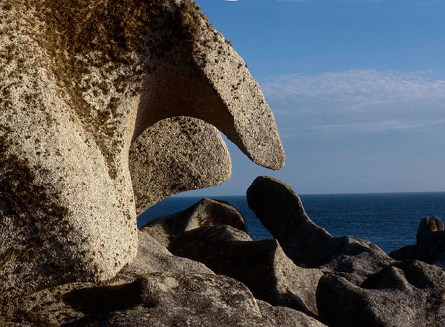 Rock formations at Peninnis Head