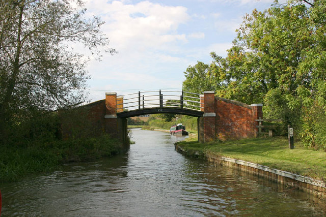 Bridge 172, Nadkey Bridge on the Southern Oxford Canal