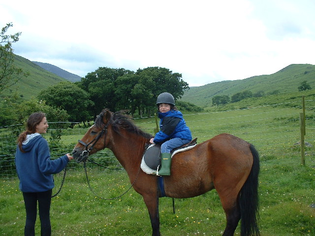Pony Riding at North Sannox, Arran