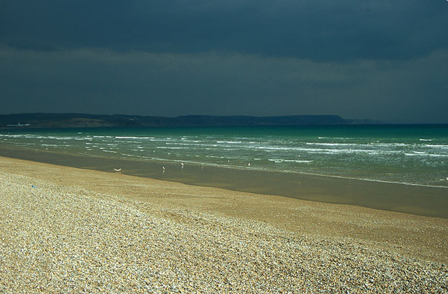 Beach at Greenhill, Weymouth