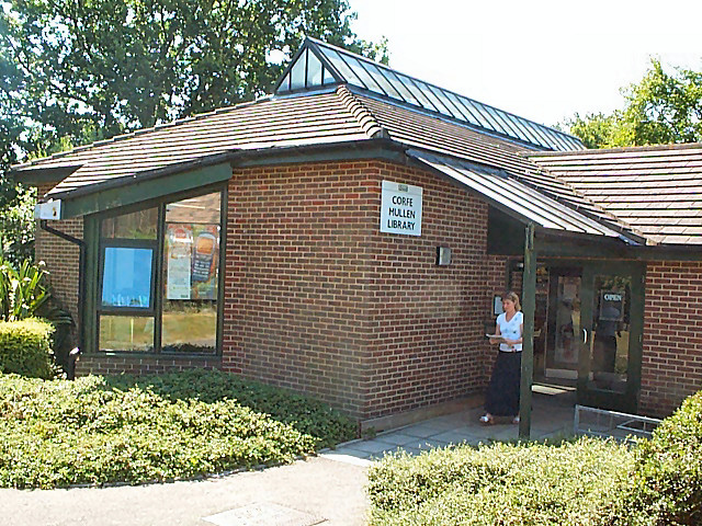 Corfe Mullen library