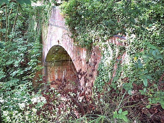 Bridge over the former Somerset and Dorset railway