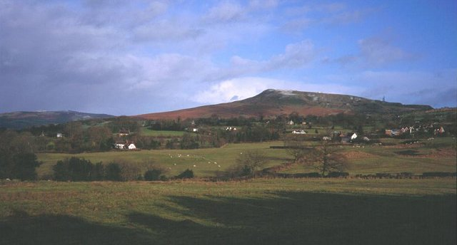Clee Hill from Knowbury.