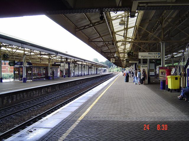 Newton Abbot railway station
