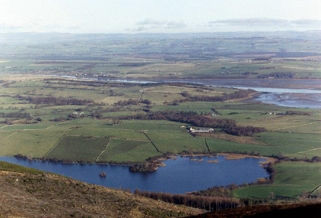 Loch Kindar and River Nith