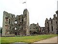 SO4108 : Raglan Castle by David Spencer