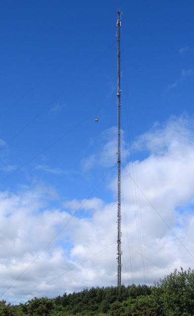 Burnhope Radio Mast
