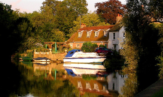 Hemingford Grey bend on the Ouse