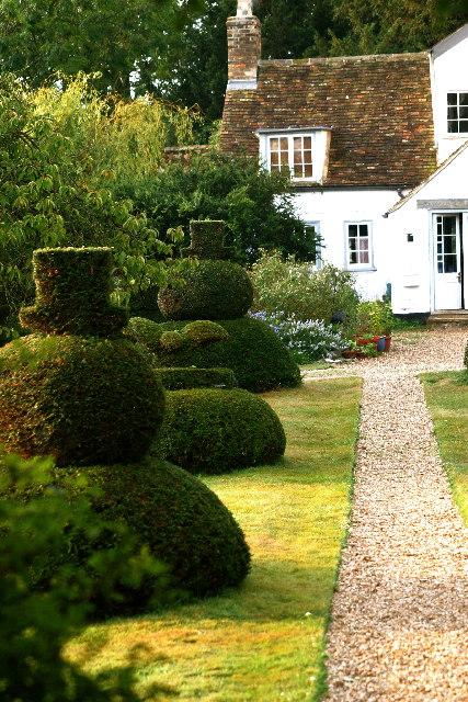 Yew Tree Chessmen at The Manor House, Hemingford Grey