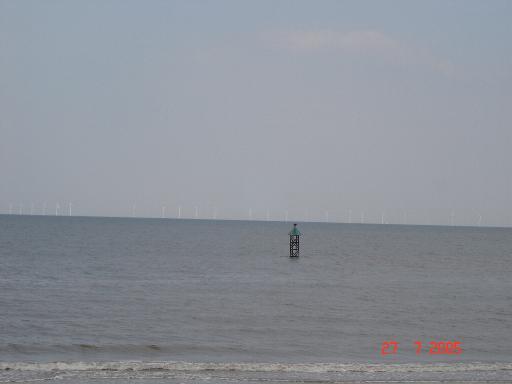 Sea scene near Rhyl