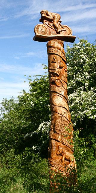 Cycleway Totem