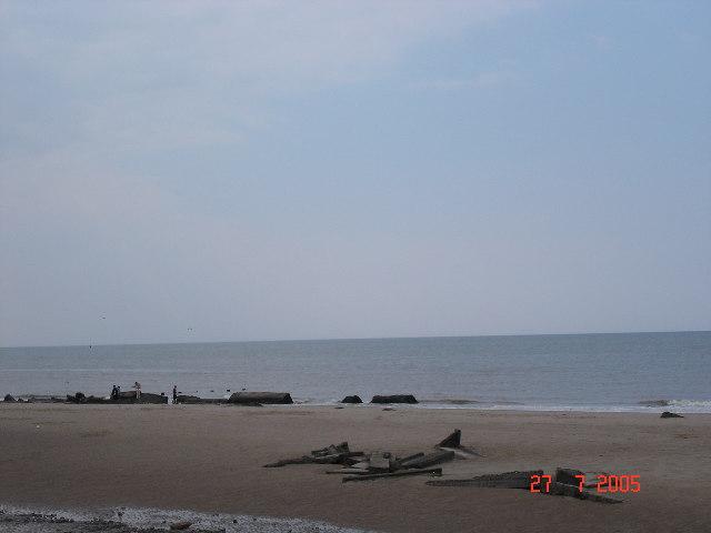 Ffrith beach