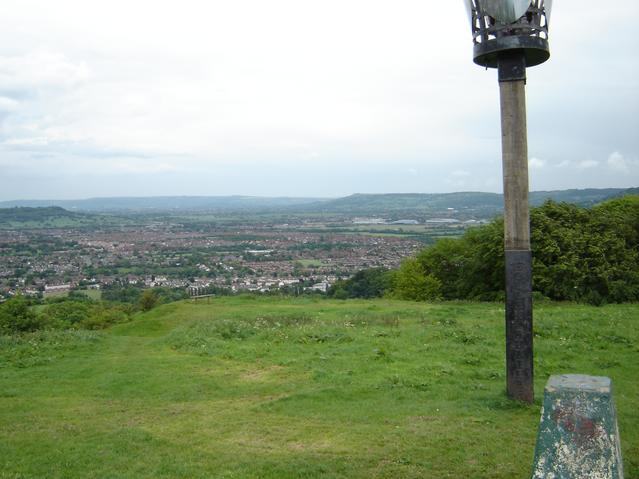 Trigpoint, Robinswood Hill, Gloucestershire