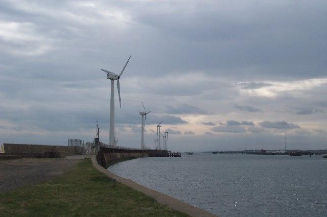 Windmills, Blyth Harbour