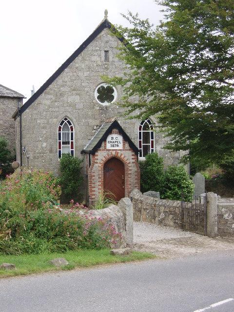 Former Chapel at Tregonetha
