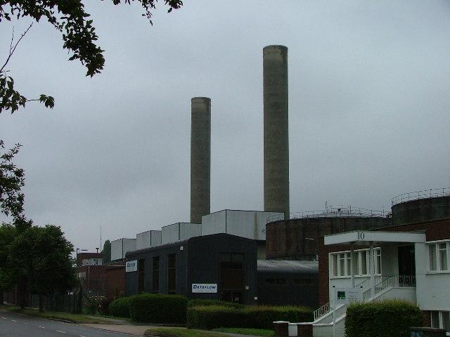 Letchworth power station.