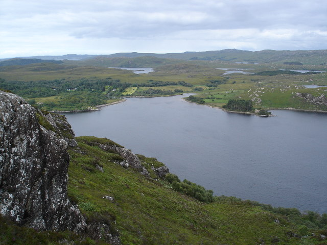 North East end of Loch Maree