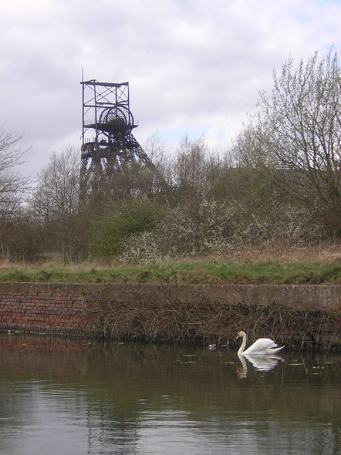 Bridgewater Canal and Disused Astley Green Colliery