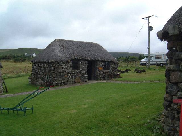 Skye Black House Kilmuir