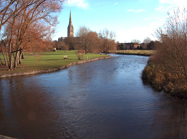 River Avon at Salisbury
