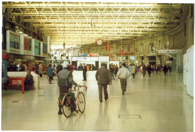 Waterloo Station.