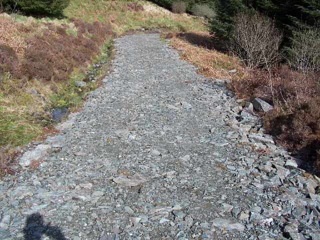 Glenkin - sandbank  trail